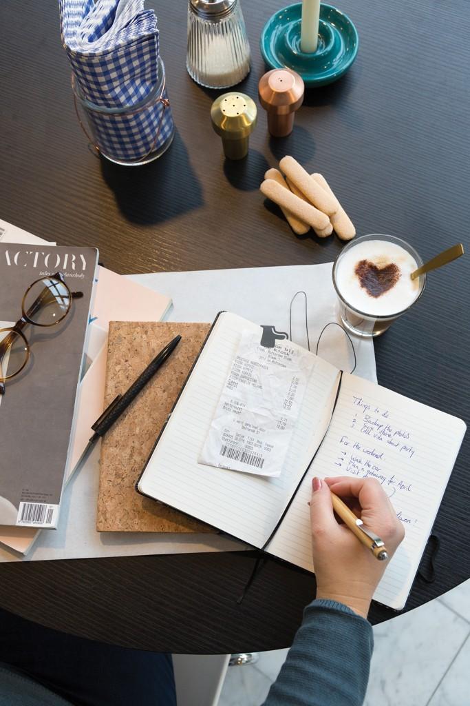 Kork A5 Notizbuch mit Bambus Stift und Stylus, Ansicht 18
