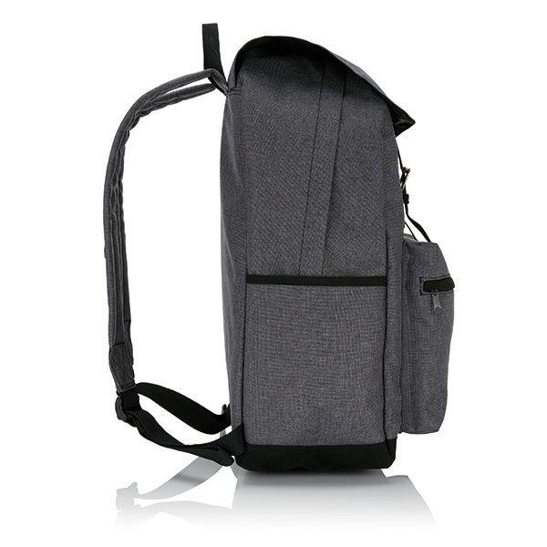 Laptop Rucksack mit magnetischen Schnallenverschlüssen, Ansicht 2