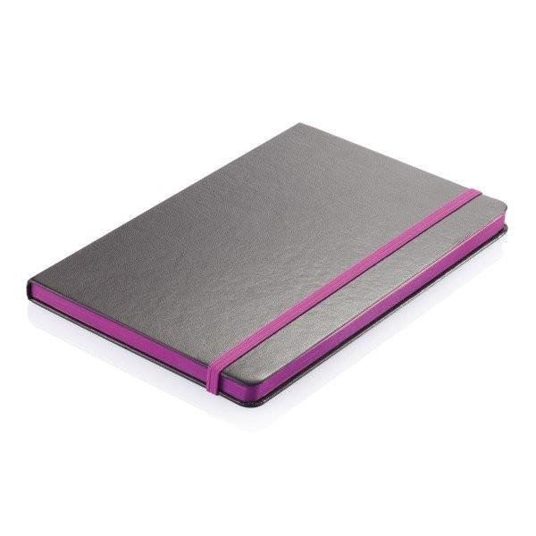 A5 Notizbuch mit farbigem Seitenrand, Ansicht 6