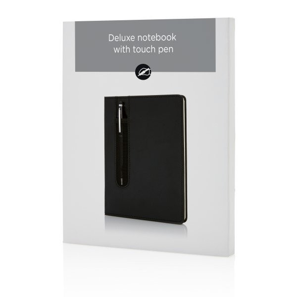 Deluxe A5 Notizbuch mit Stylus, Ansicht 6