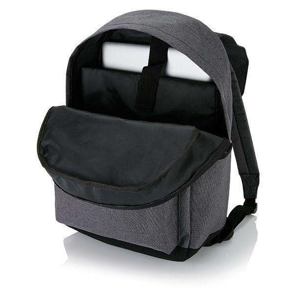 Laptop Rucksack mit magnetischen Schnallenverschlüssen, Ansicht 4