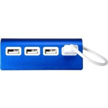 """USB-Hub """"Square"""" - Blau"""