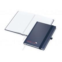 Vision-Book A5 Future dunkelblau, Siebdruck-Digital x.press