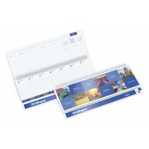 Tisch-Querkalender Master Register Cover-Star - Individuell