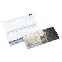 Tisch-Querkalender Master Register Karton - Individuell
