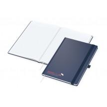 Vision-Book A4 Future dunkelblau, Siebdruck-Digital x.press