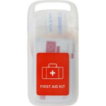 "Erste-Hilfe Set ""Doc"" in einer transparenten Hülle - Transparent"