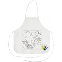 """Küchenschürze """"Creativ Kid"""" - Weiß"""