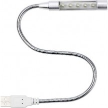 "USB-Lampe ""Flexible"" - Silber"