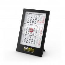 Tisch-Monatskalender Box 3 Complete - schwarz