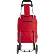 """Trolley """"Granny"""" aus 600D Polyester - Rot"""