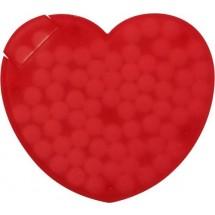 """Pfefferminzbonbons """"Heart"""" - Rot"""