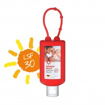 Sonnenmilch, 50 ml Bumper (rot), Body Label