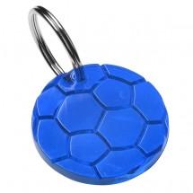 """Schlüsselanhänger """"Rund"""", trend-blau"""