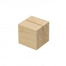 """Holzmenükartenhalter """"Cube"""", natur"""