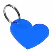 """Schlüsselanhänger """"Herz"""", trend-blau"""