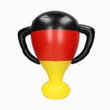 """Aufblasbarer Pokal """"Deutschland"""" - Deutschland-Farben"""