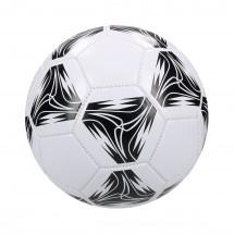 """Fußball """"Golden Star"""" - weiß/schwarz"""