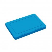 "Maskenbox ""Hygiene"", antibakteriell, hellblau"