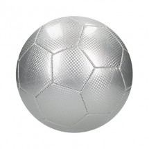 "Fußball ""Carbon"", groß - silber"