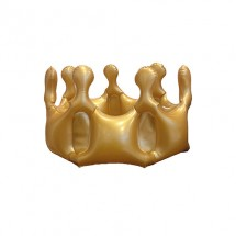 "Aufblasbare Krone ""Corona"" - gold"