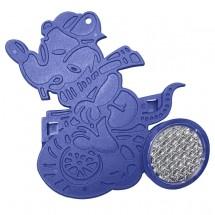 "Reflektor ""Fahrrad-Figur MAUS"", blau"
