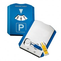 """Parkscheibe """"Profi"""", blau/weiß"""