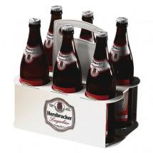 """Bierflaschenträger """"Take 6"""", weiß"""