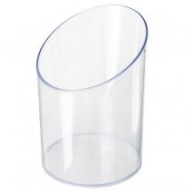 "Acrylbox ""Schütte"" leer, transparent"