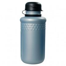 """Trinkflasche """"Fahrrad"""" 0,5 l mit Verschlusskappe, silber"""