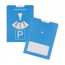 """Papp-Parkscheibe """"Board"""", blau"""