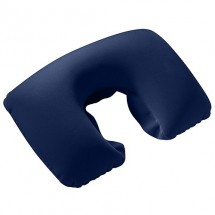Nackenstütze, aufblasbar, blau, 16P PVC