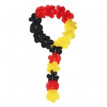 """Stirnband """"Laola"""", schwarz/rot/gelb"""