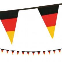 """Wimpelkette """"Deutschland"""", schwarz/rot/gelb"""