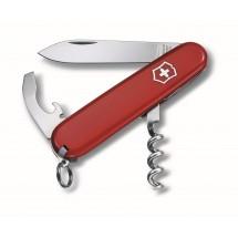 VICTORINOX Schweizer Taschenmesser  WAITER  - rot
