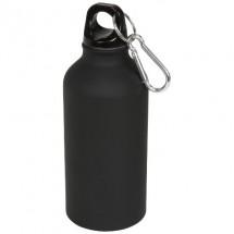 Oregon matte 400 ml Trinkflasche mit Karabiner - schwarz
