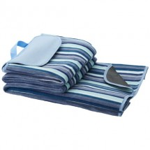 Riviera Picknickdecke - weiss / blau