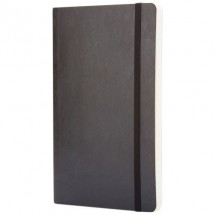 Classic Softcover Notizbuch L – kariert- schwarz