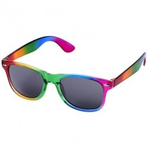 Sun Ray Regenbogen-Sonnenbrille- regenbogenfarben