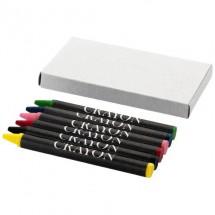 6-teiliges Farbstifteset - grau