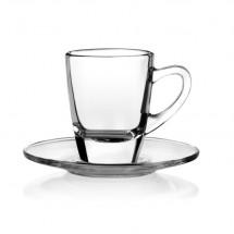 Untertasse passend für Kenia Espresso Glastasse