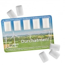 Smart Card mit Wunschinhalt