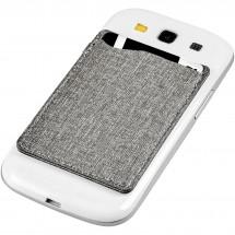 Premium RFID-Telefontasche - grau