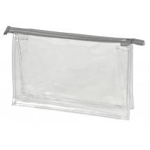 Reißverschluss-Tasche UNIVERSAL - transparent