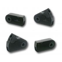 Sleeve Mini Einfachspitzer Schwarz