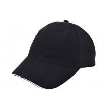 Heavy Brushed Cap mit LED - schwarz