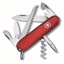 VICTORINOX Schweizer Taschenmesser  CAMPER  - rot