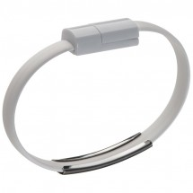 USB-Armband - weiss