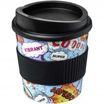 Brite-Americano® Primo 250 ml Becher mit Schutzring - schwarz
