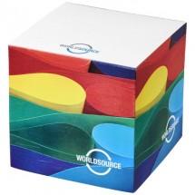Cube Notizblock klein 75x75- weiss